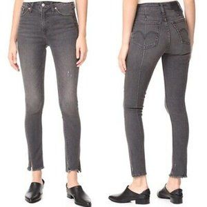 Levis Altered 721 High Rise Skinny Charcoal